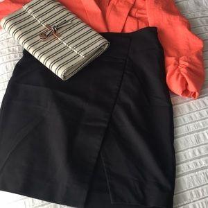 Philosophy slit front pencil skirt